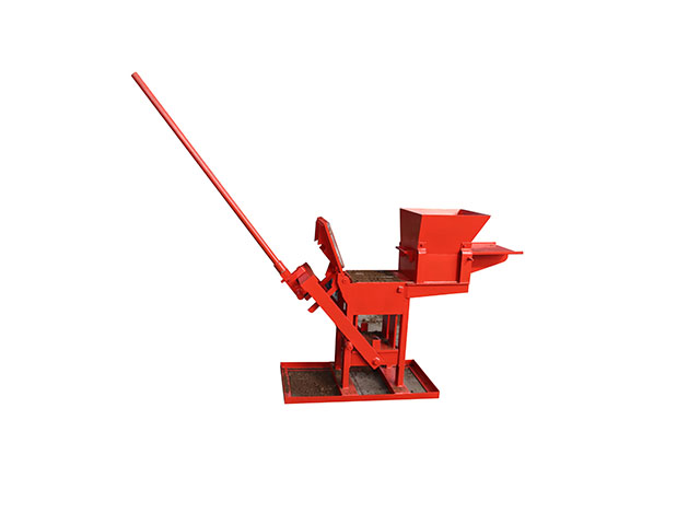 QMR 2-40 manual clay interlocking lego block machine