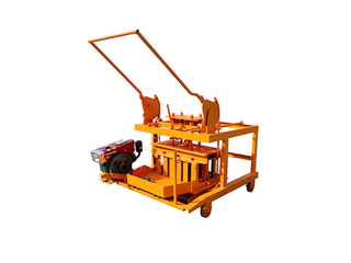 QM4-45 Mobile Diesel Concrete Hollow Block Egg Laying Machine