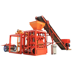QT4-24B semi auto cement brick block machine stone block molding machine for sale